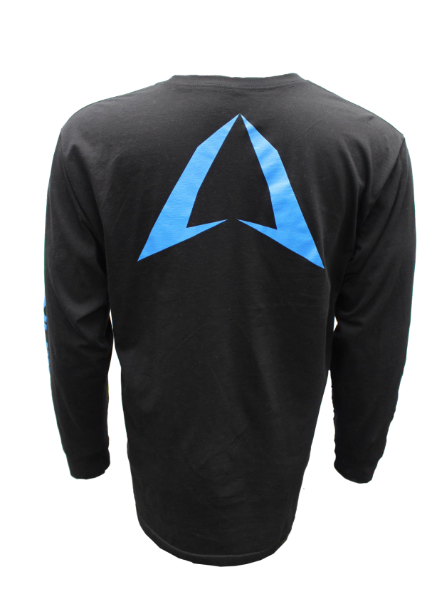long sleeve ROKMAN Black and Blue Long Sleeve