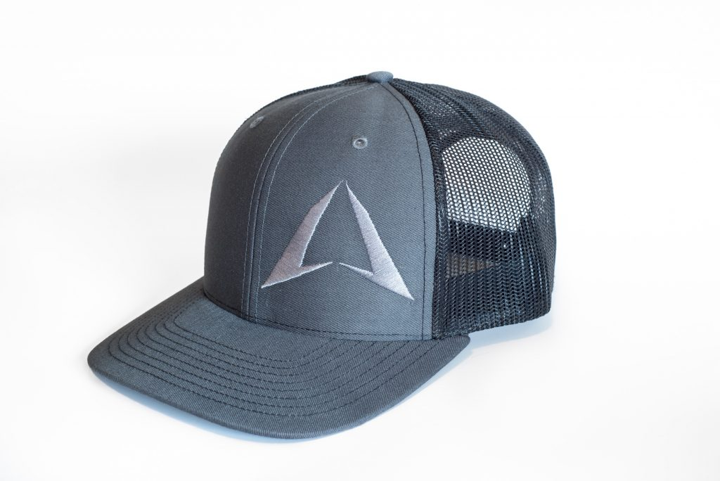 ROKMAN Grey/Black Hat