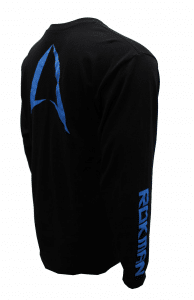 ROKMAN BLACK AND BLUE LONG SLEEVE