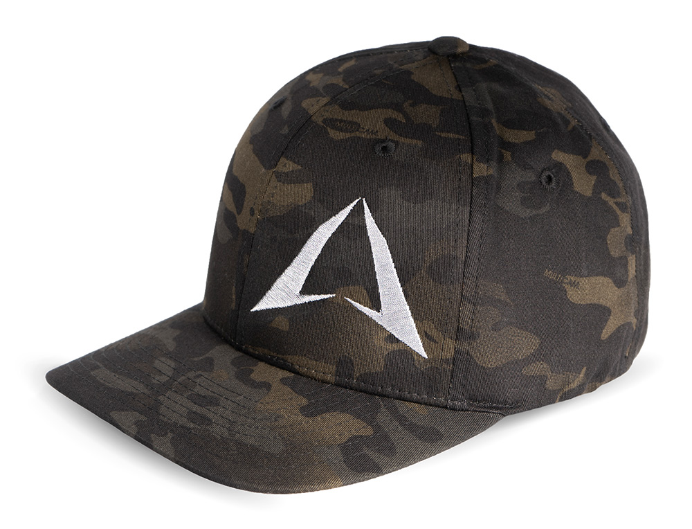 Multicam Hat Black