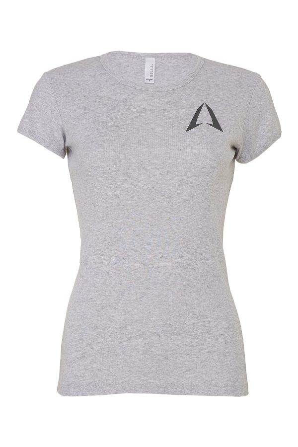 ROKMAN WOMEN'S GREY SHIRT